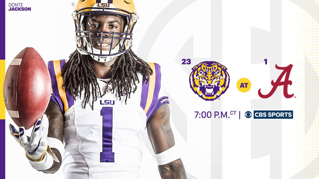 LSU at Alabama to Air in Primetime on CBS