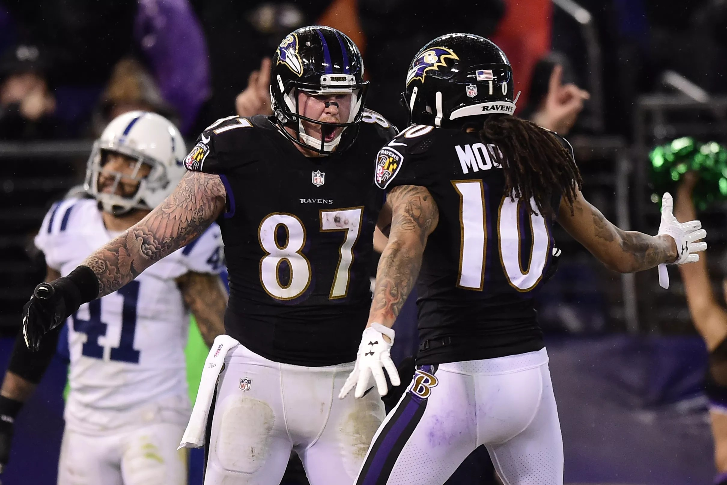 cheaper ac886 f8d3b With Ravens' rookie TE Hayden Hurst out for 3-4 weeks, Maxx ...
