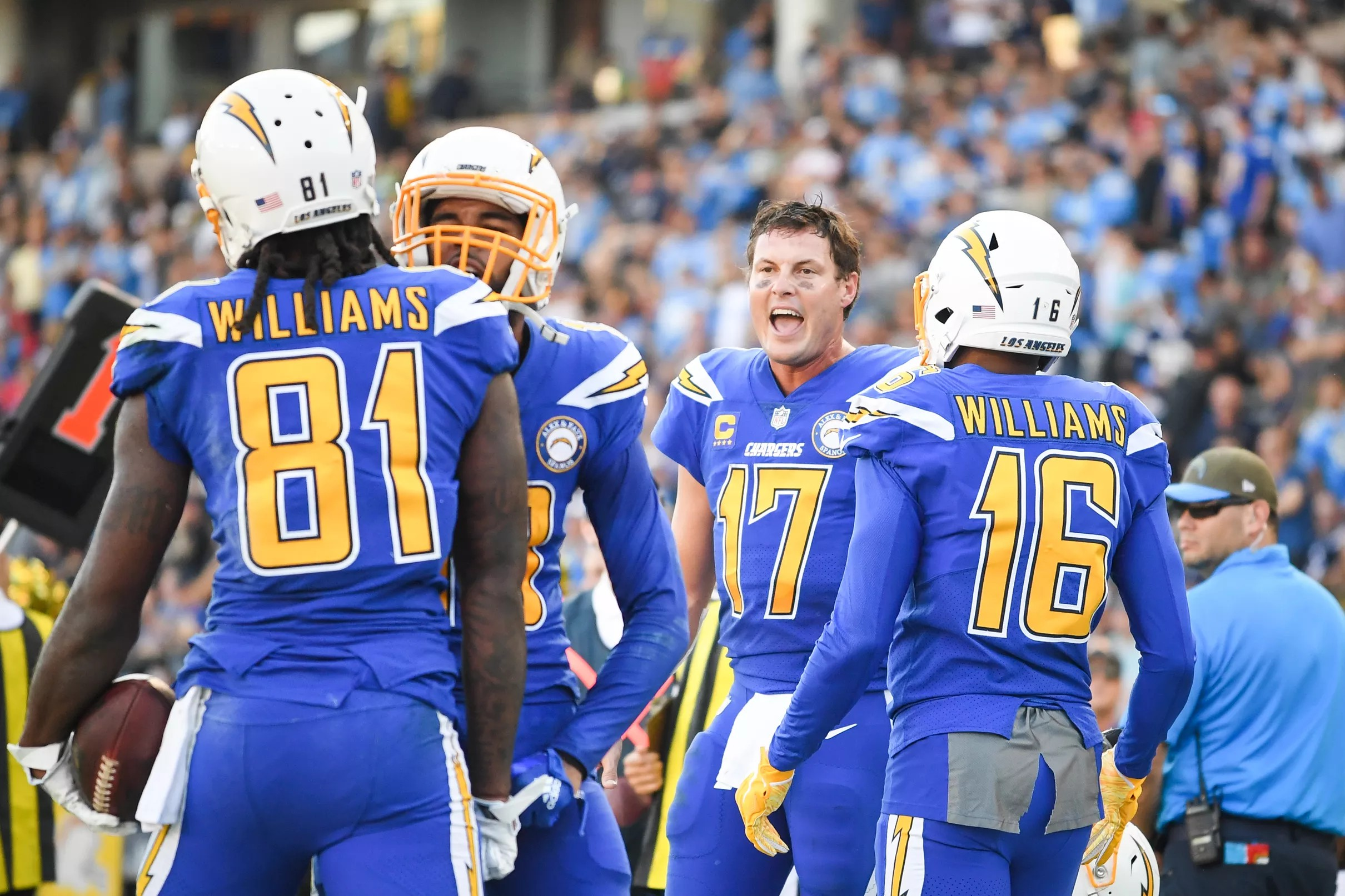 40a90576 Los Angeles Chargers Daily Links: Where do the Chargers uniforms rank?