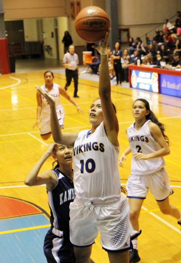 Biif girls basketball hilo hammers warriors in tourney final for Gap 75014