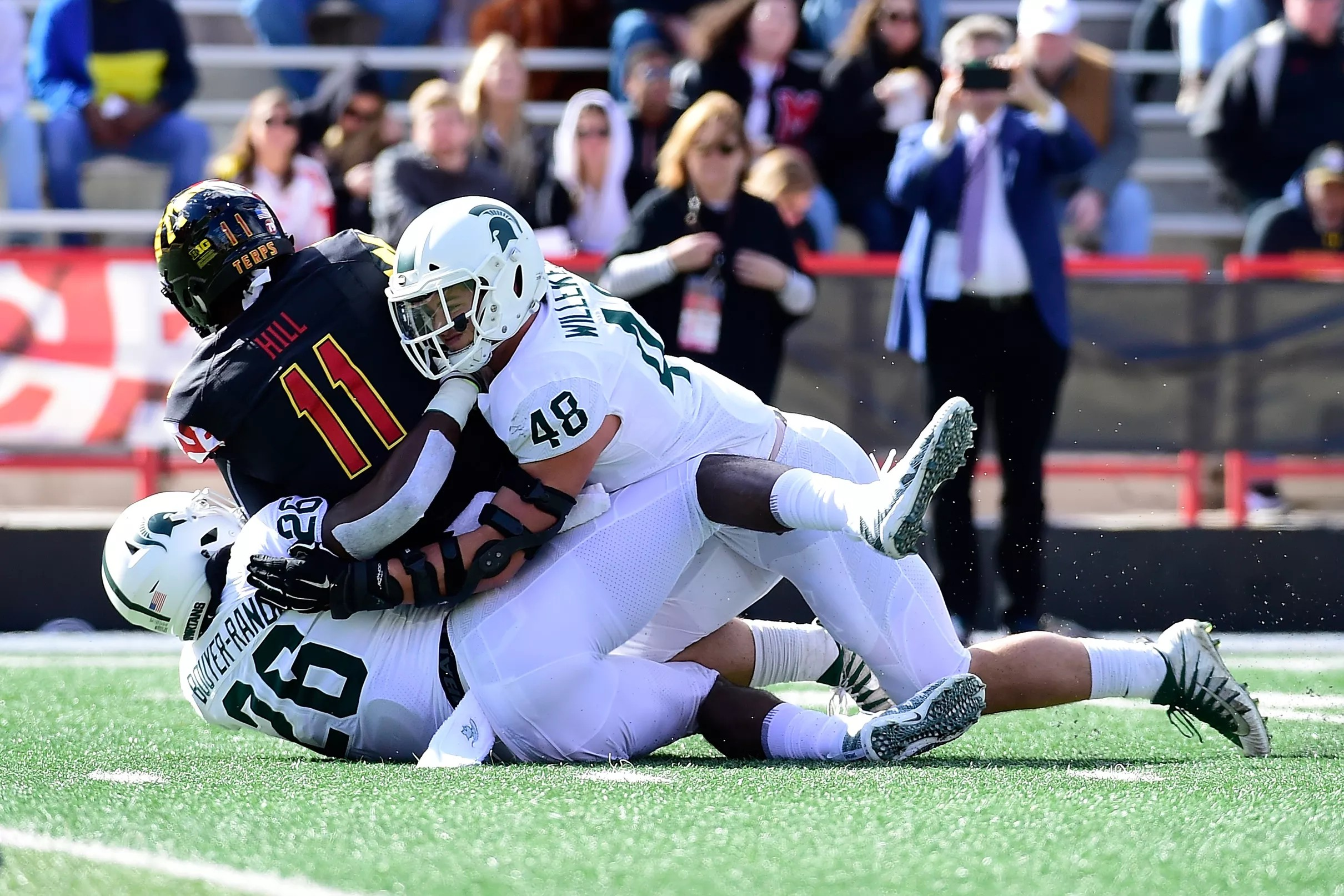 Maryland football falls to Michigan State, 24-3