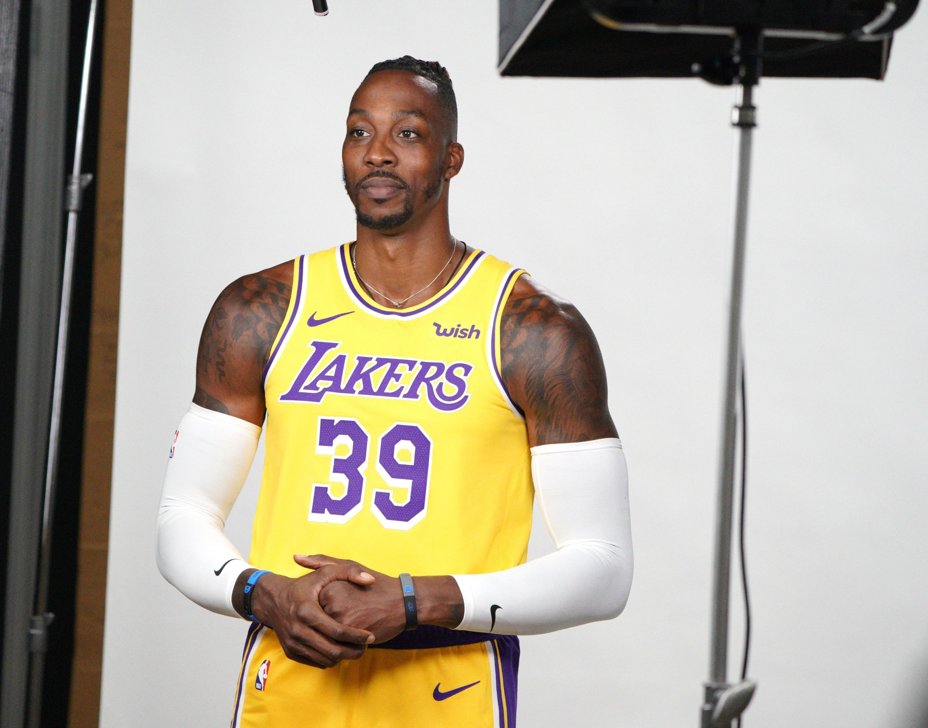 Lakers Howard Los with Dwight impressed Angeles are