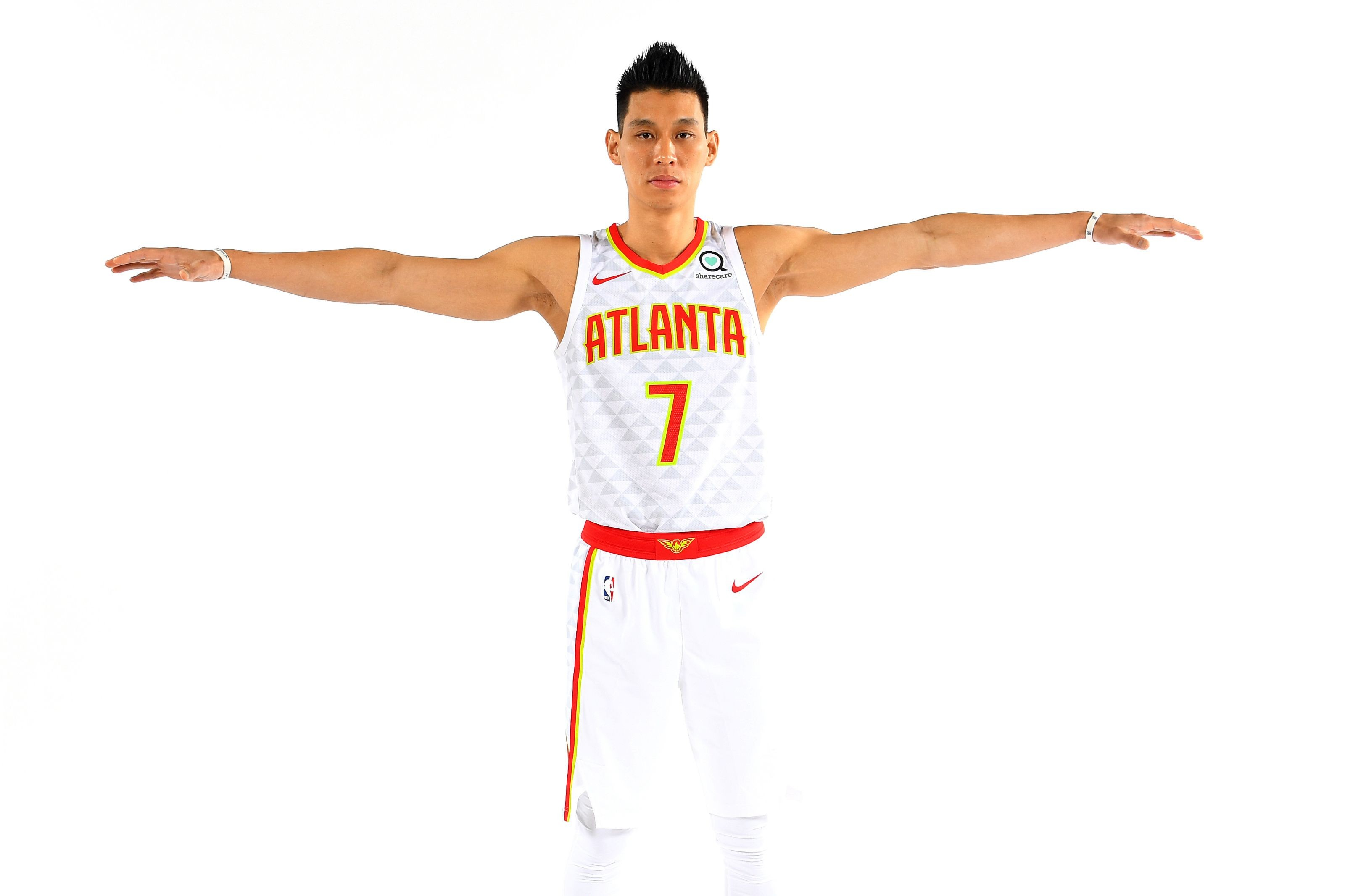 Image result for jeremy lin introduced to hawks
