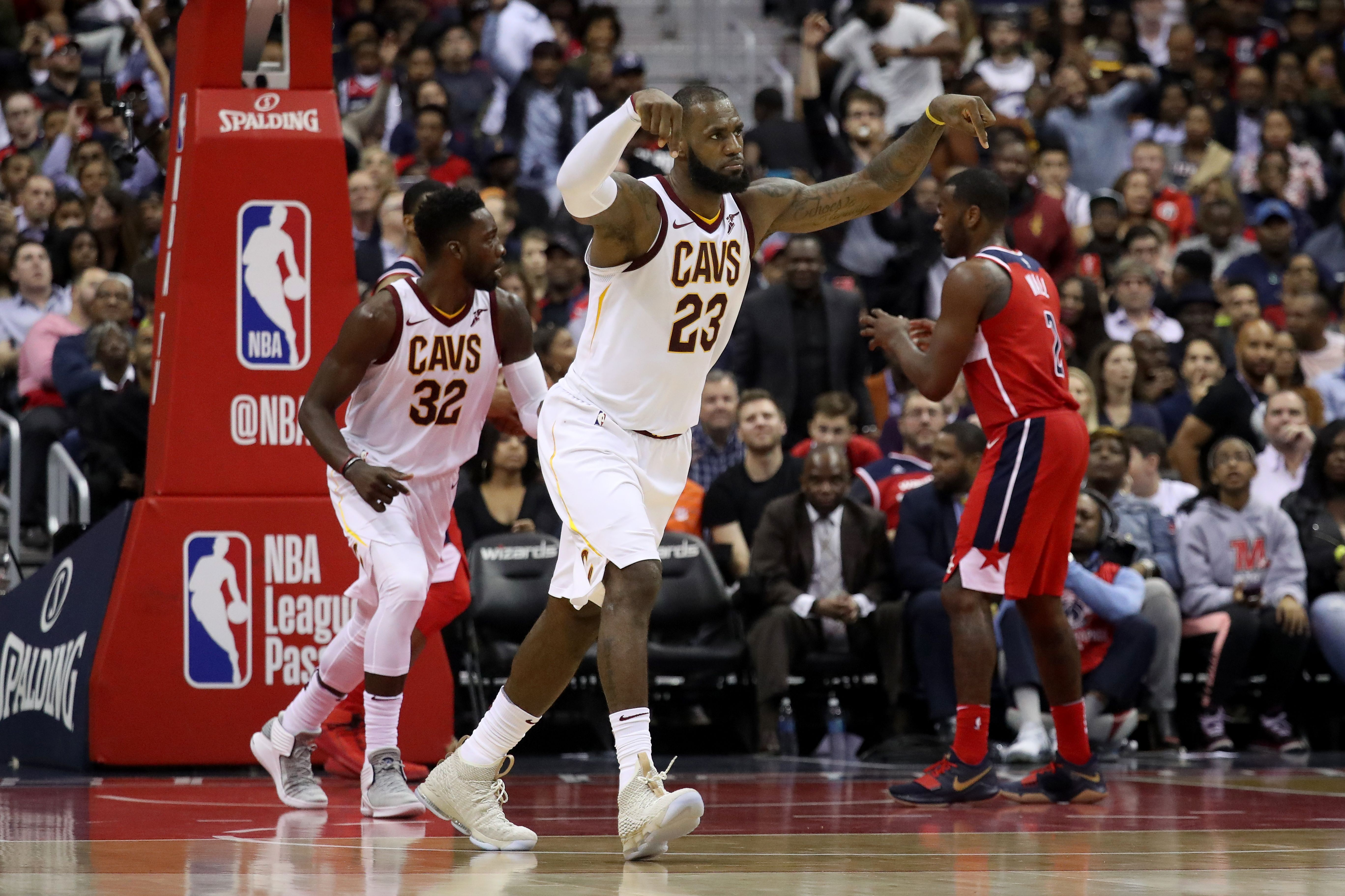 913d7237f04c Washington Wizards  Wizards Don t Bother LeBron James