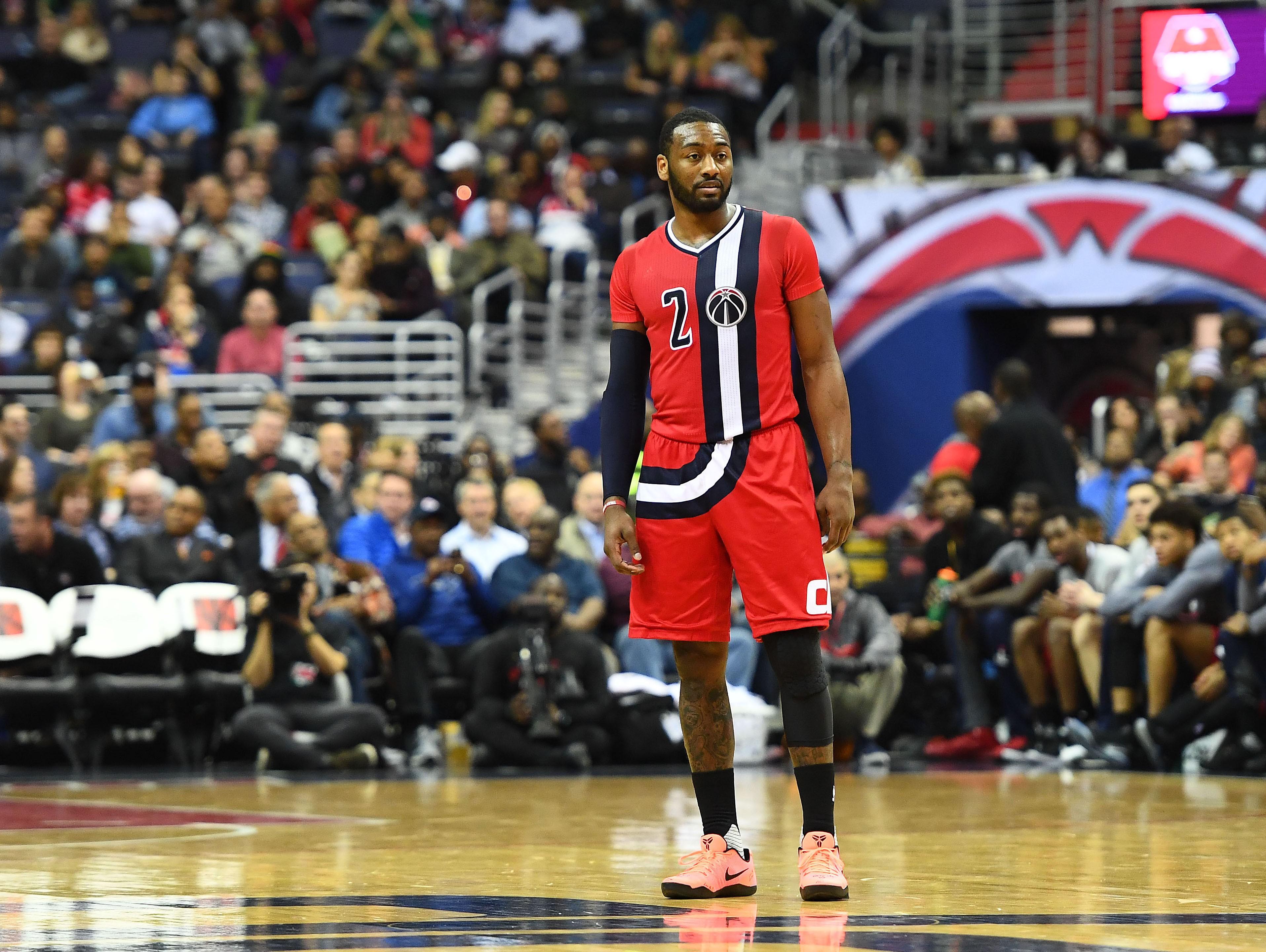 brand new cf50a ad7b3 Washington Wizards' John Wall Named To 2017 NBA All-Star Team