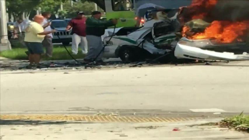 Car Accident Near  Way In York Arizona