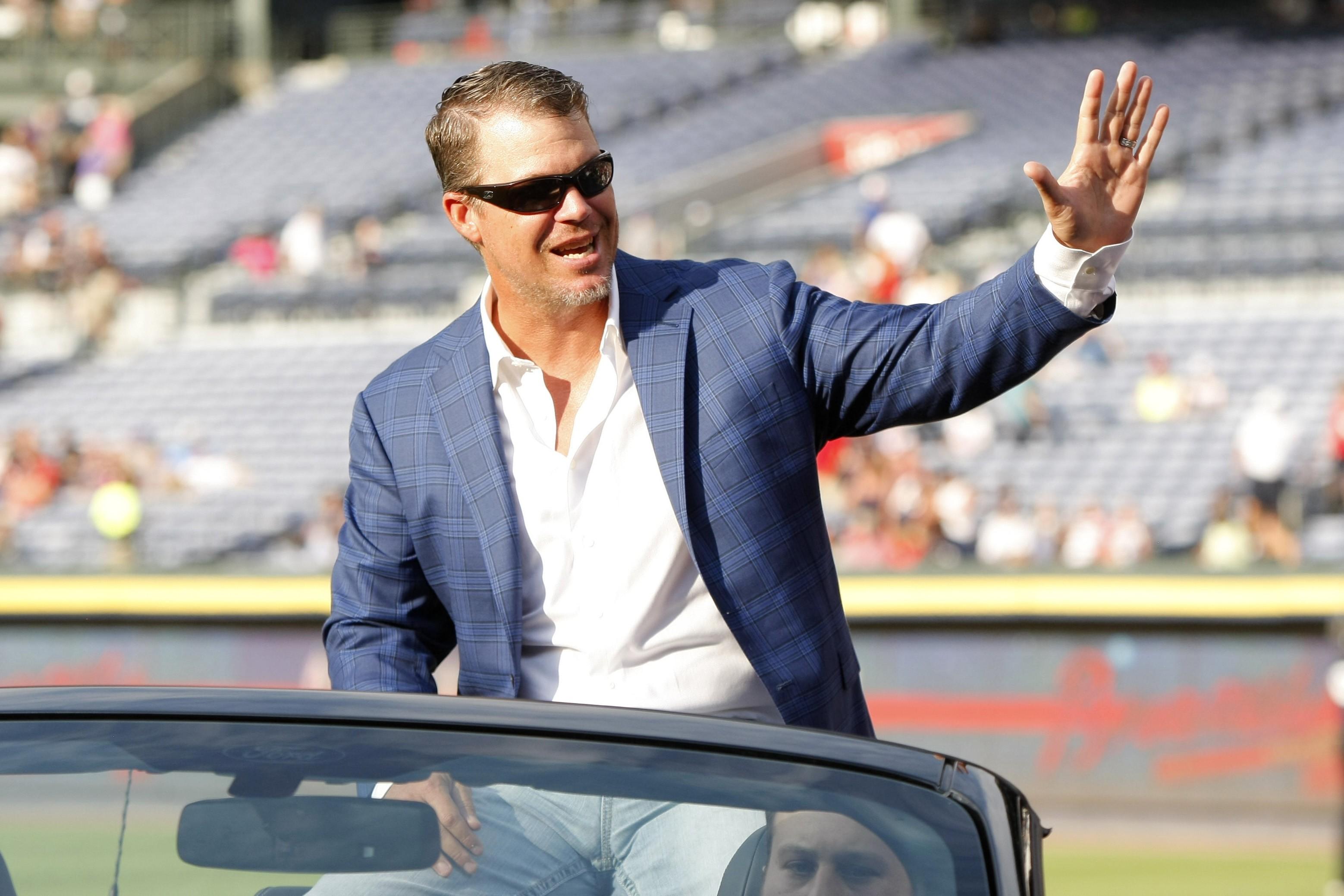 "3dc58caea2 Atlanta Braves Great Chipper Jones Has ""New Most Embarrassing Moment ..."