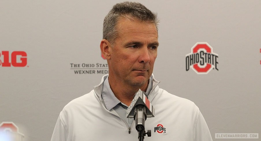 Urban Meyer Holds Final Press Conference Before Season Opener