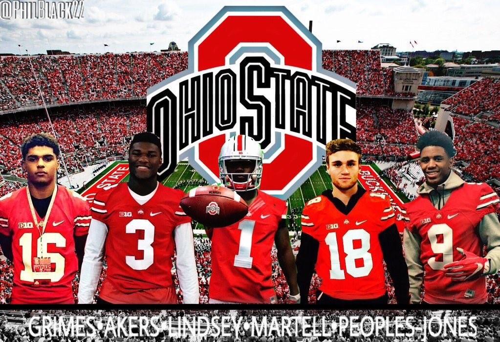 Ohio State Football Tate Martell QB Recruiter