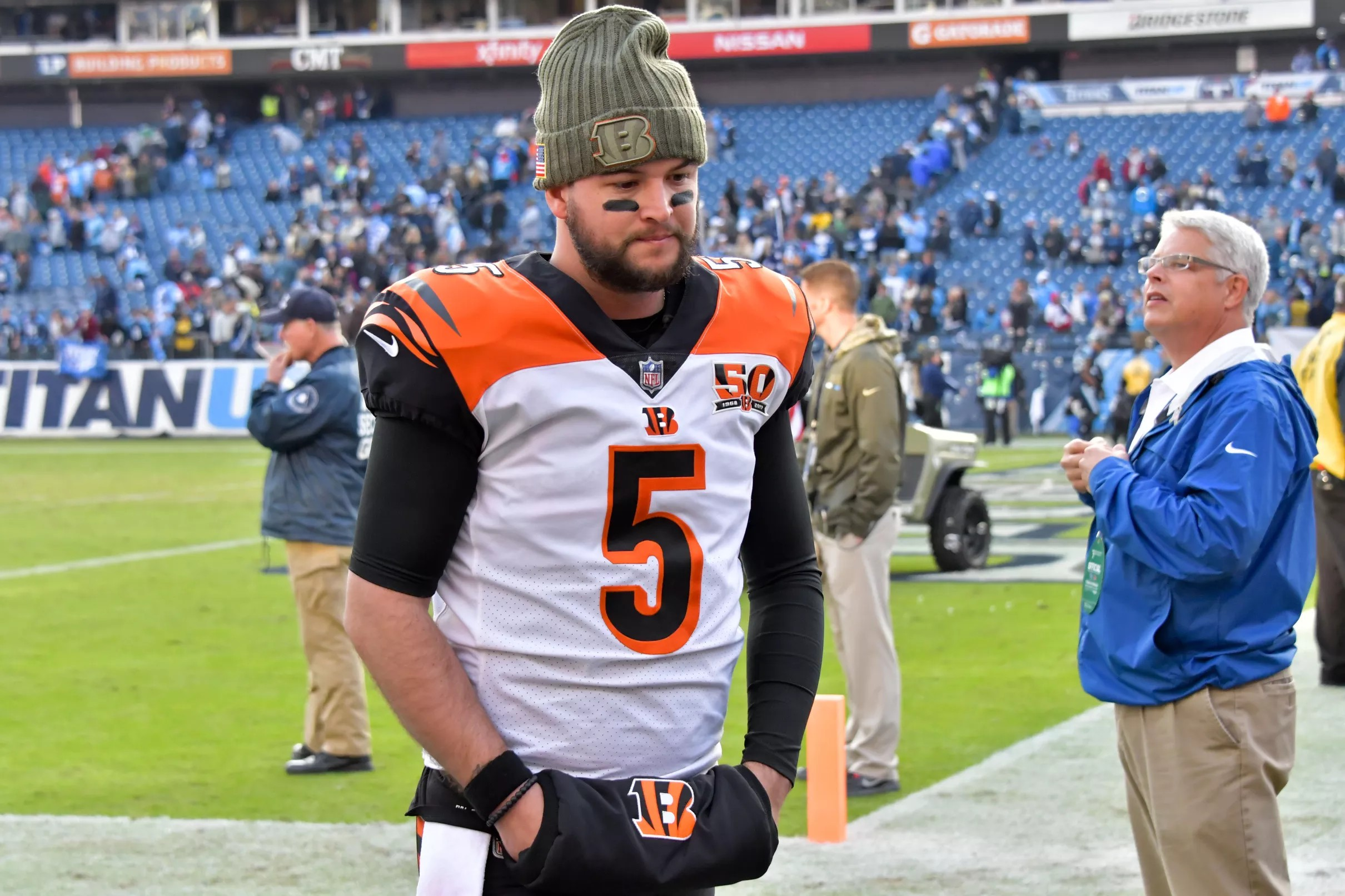 81cdee82 How Bengals getting a compensatory pick for AJ McCarron may affect ...