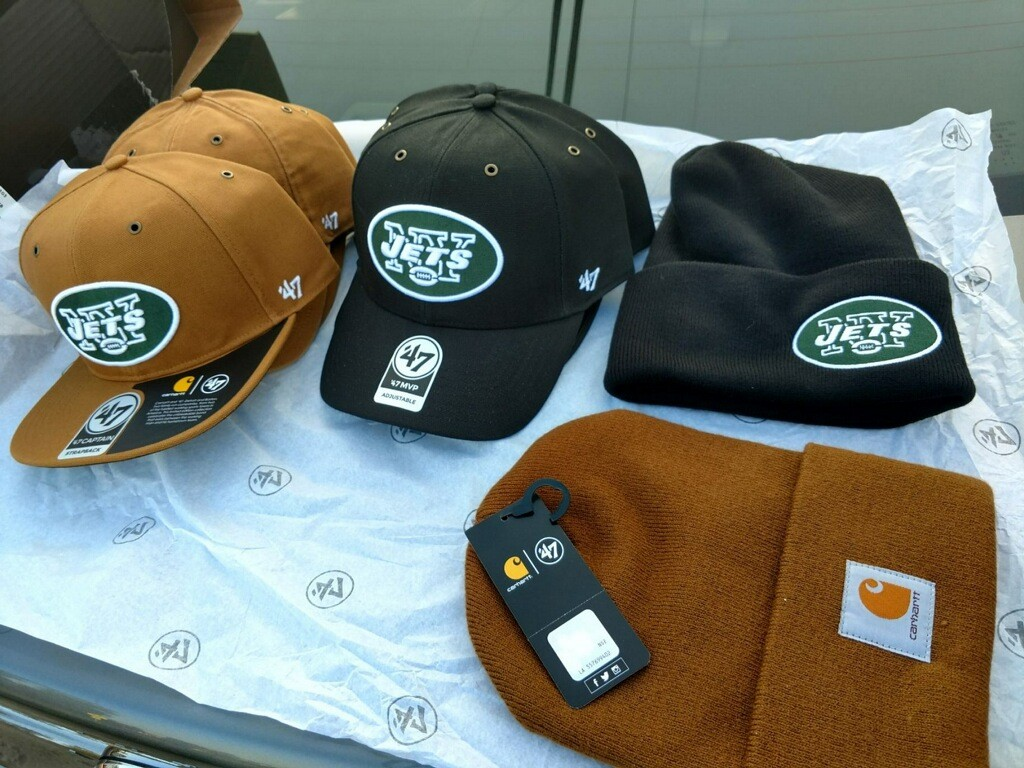 Carhartt & '47 NY Jets Hat Giveaway