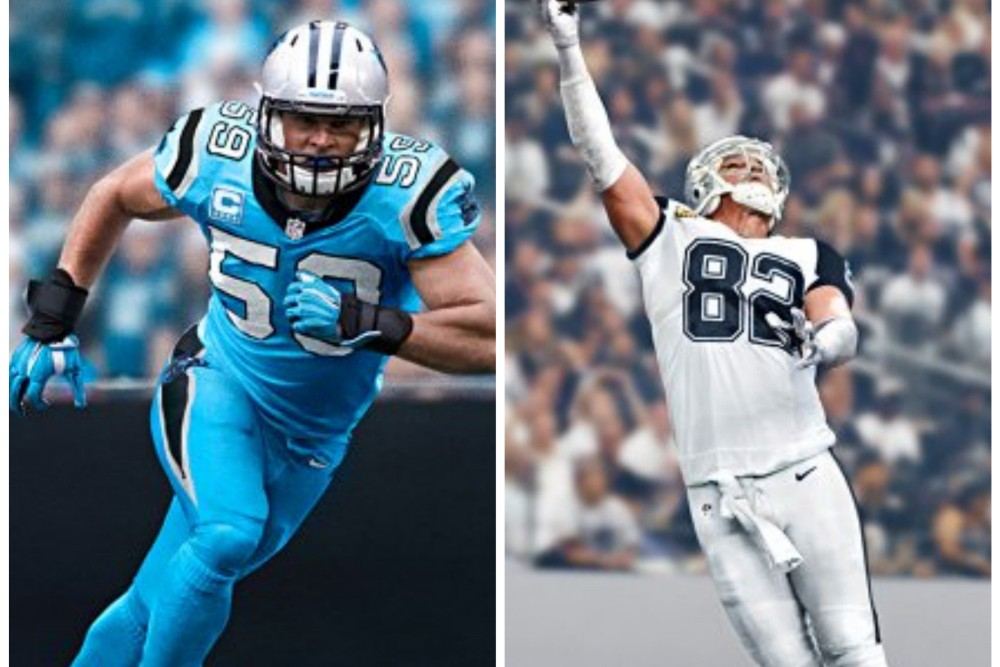 low priced d87c2 106c5 Panthers and Cowboys Unveil 'Color Rush' Uniforms for ...
