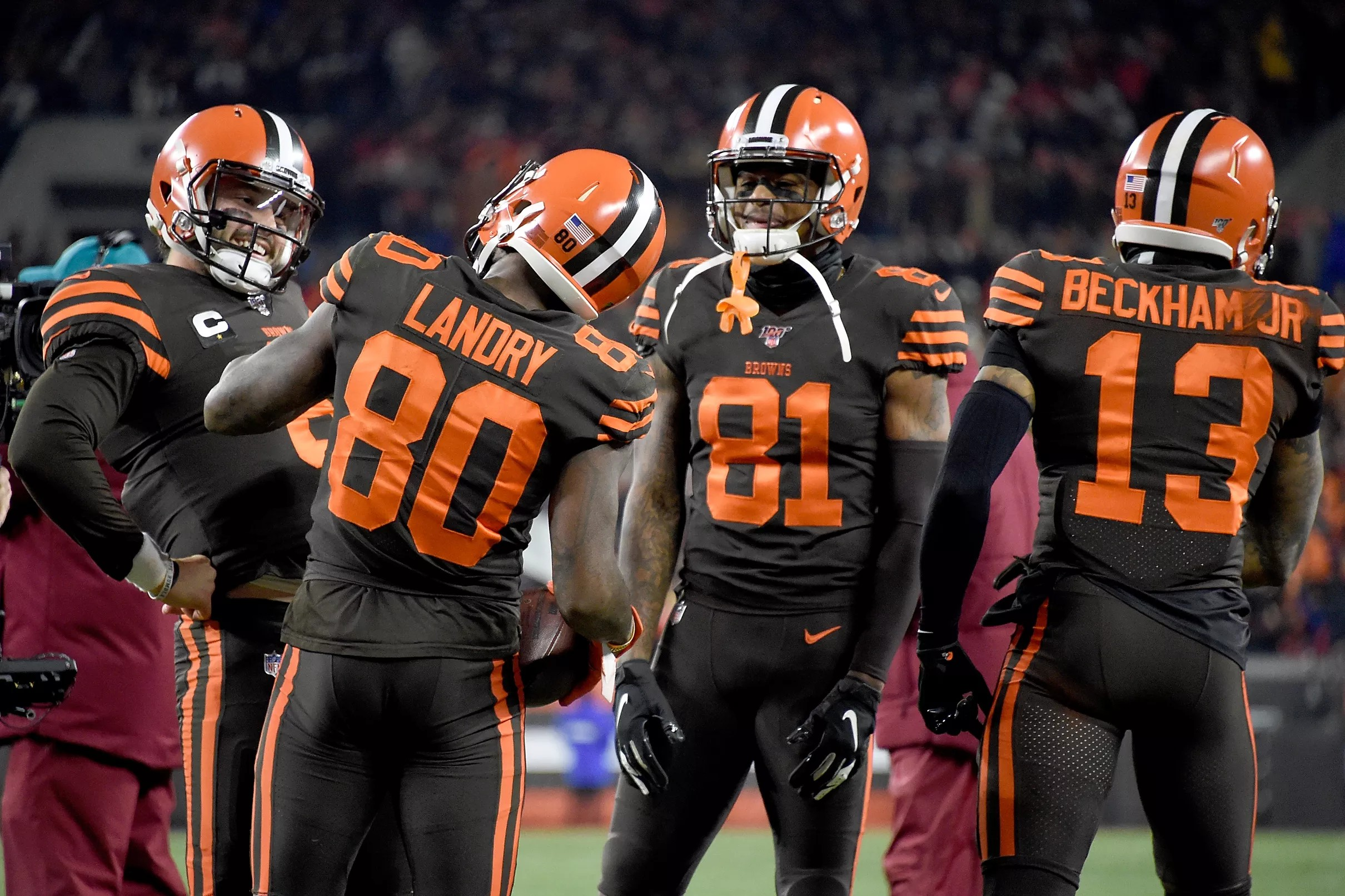 The Cleveland Browns are already considering changing
