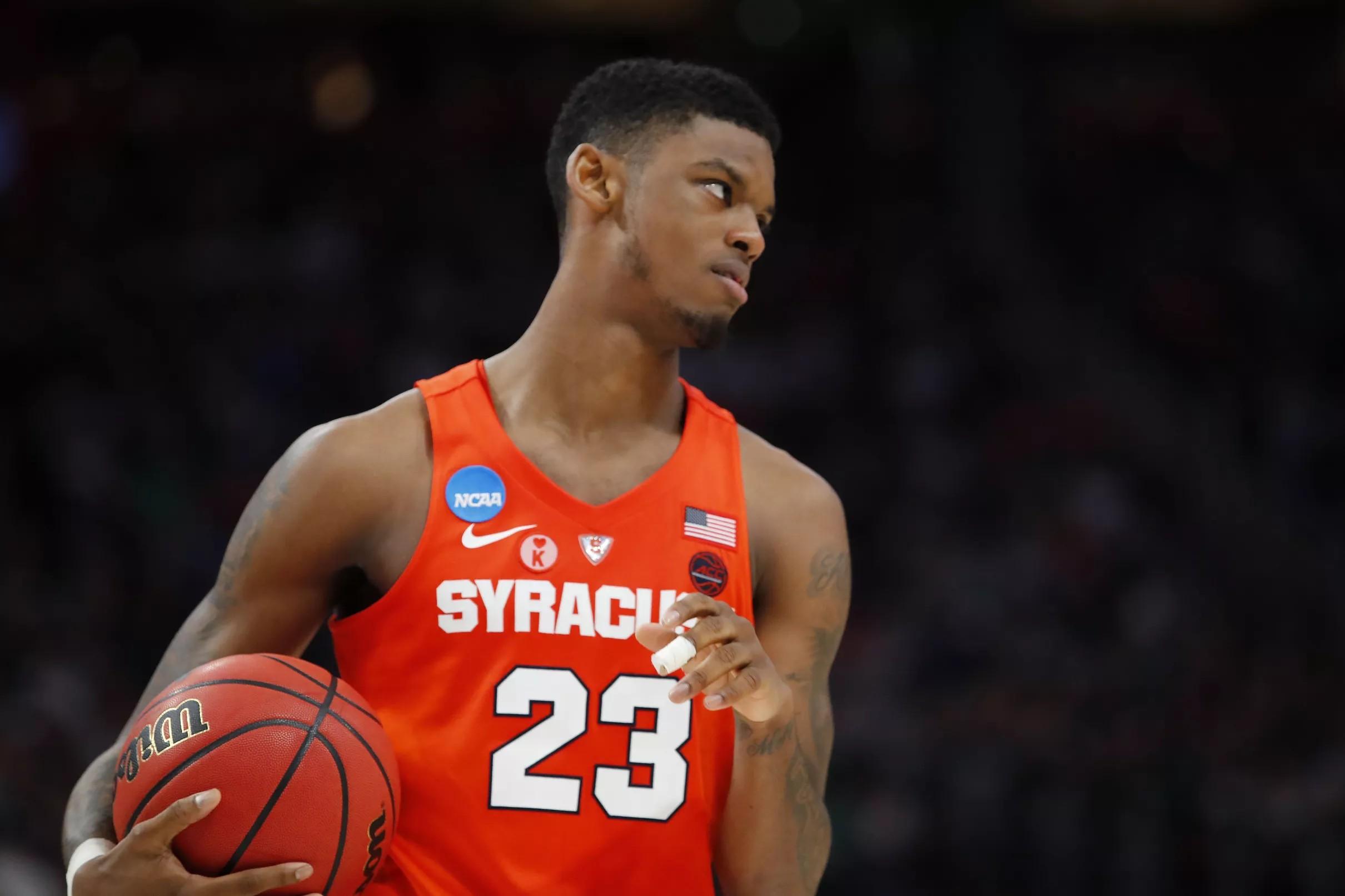 Syracuse Basketball Frank Howard Suffers Lower Left Leg Injury