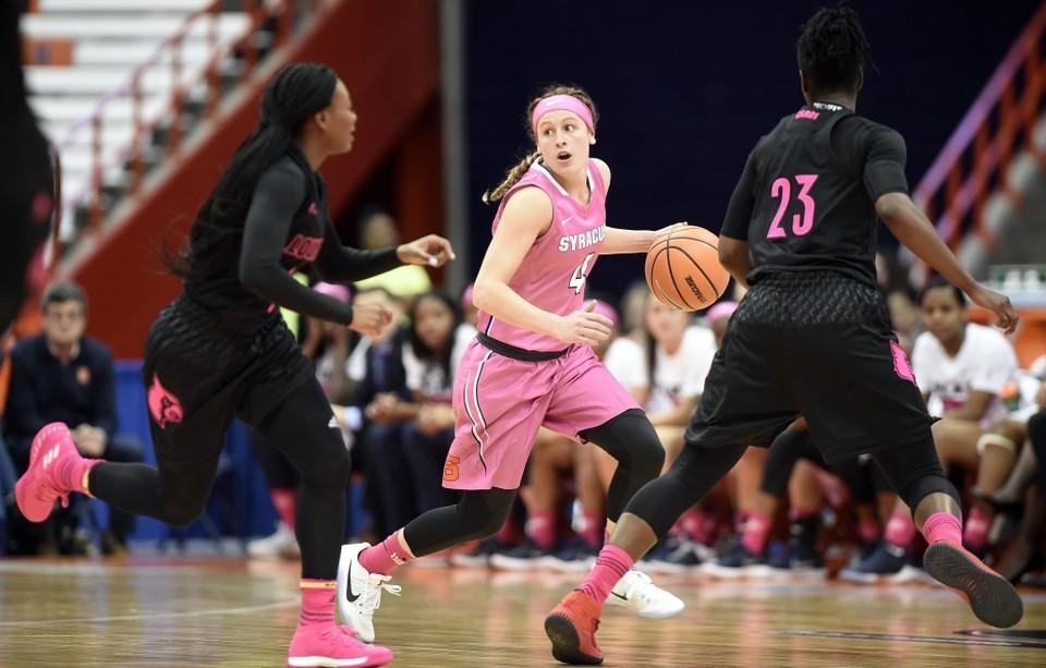 Oklahoma St. Coach: Syracuse Women's Basketball Star Made