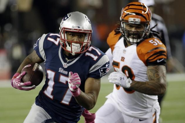 Patriots Place WR Aaron Dobson on Injured Reserve