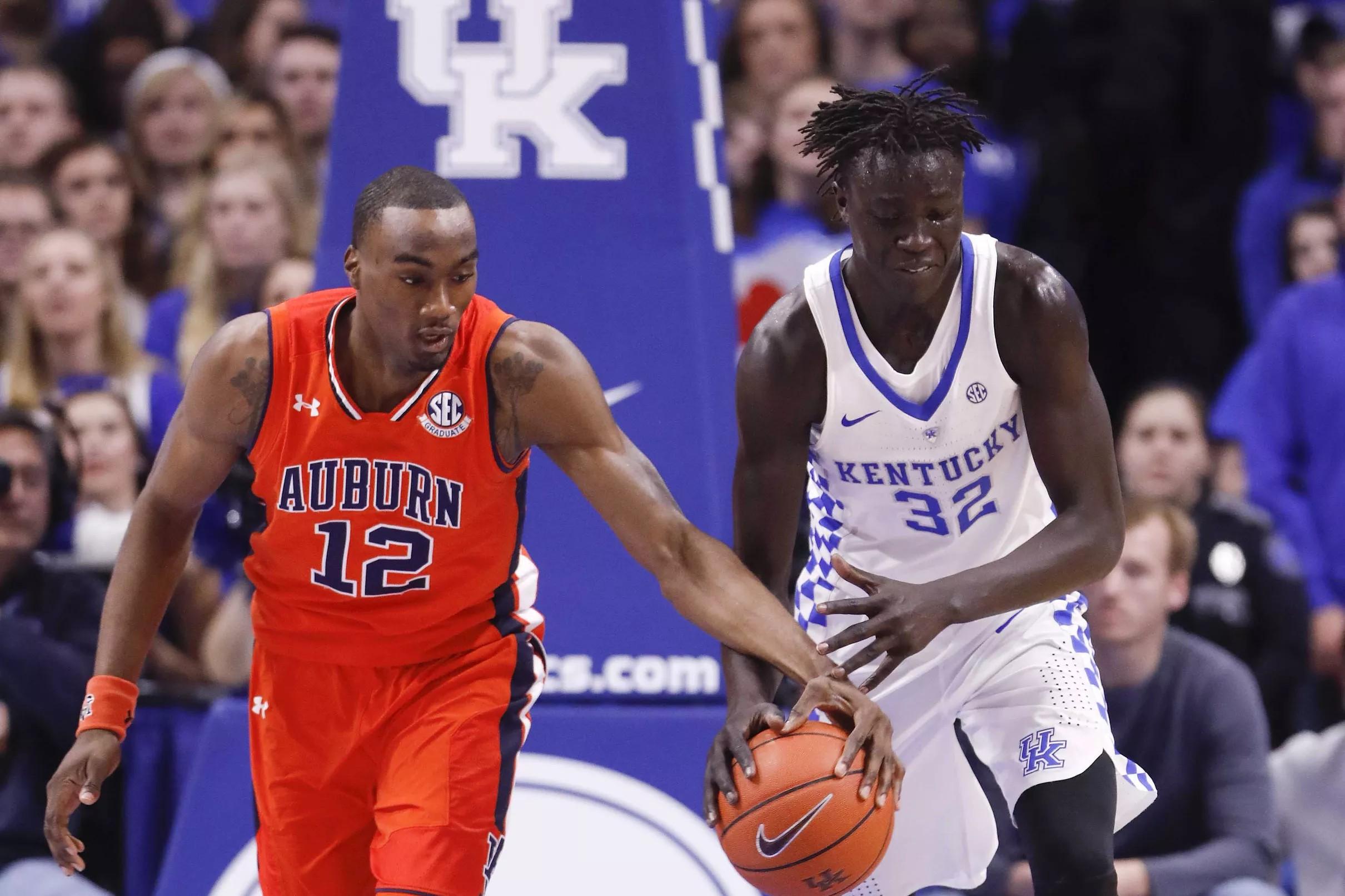 Kentucky Wildcats Basketball vs Auburn Tigers: Game time, TV