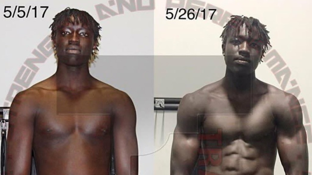 Wenyen Gabriel's transformation is incredible