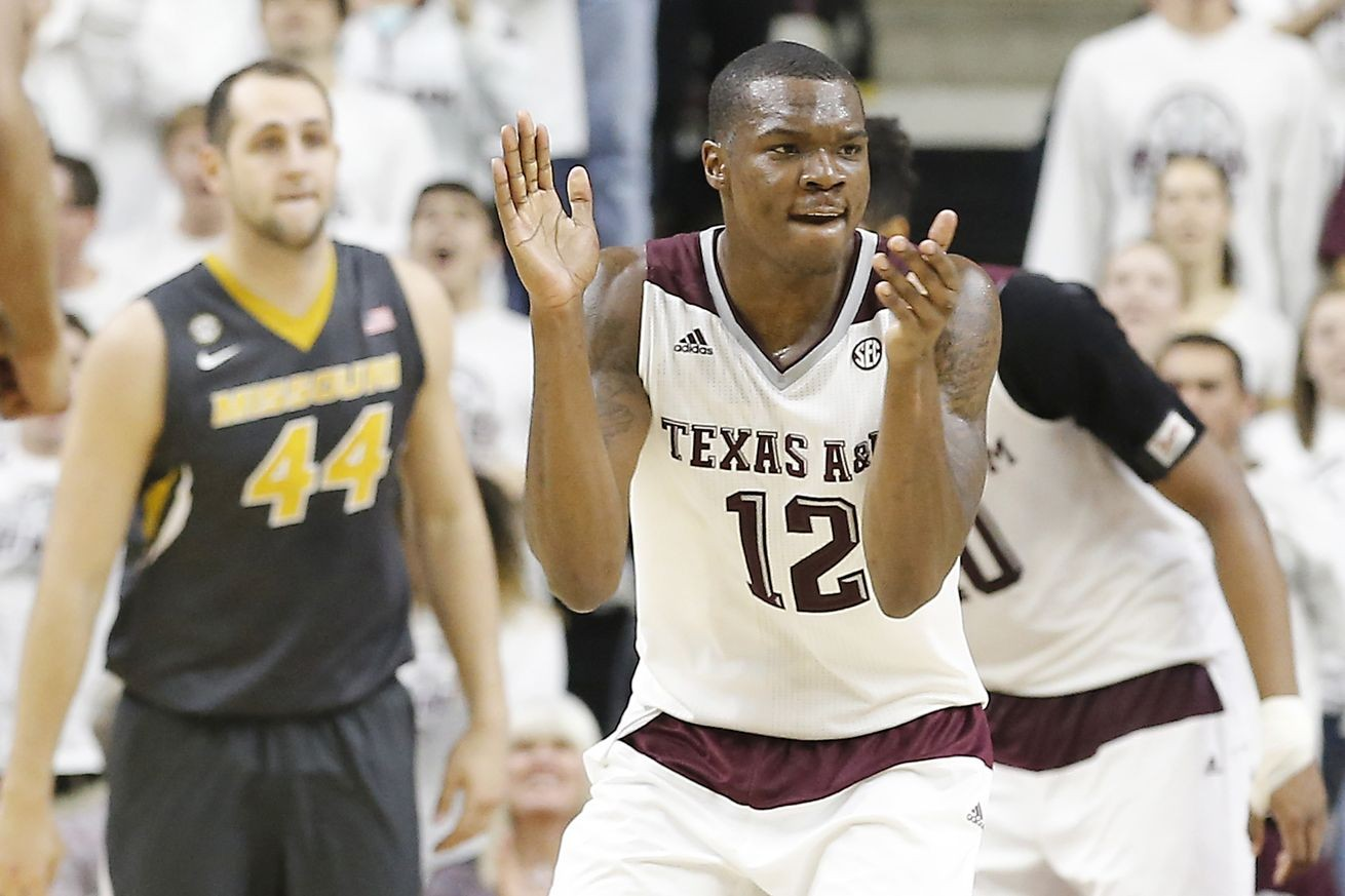 Instant Reaction Texas A Amp M Basketball Holds Off Mizzou 66 53