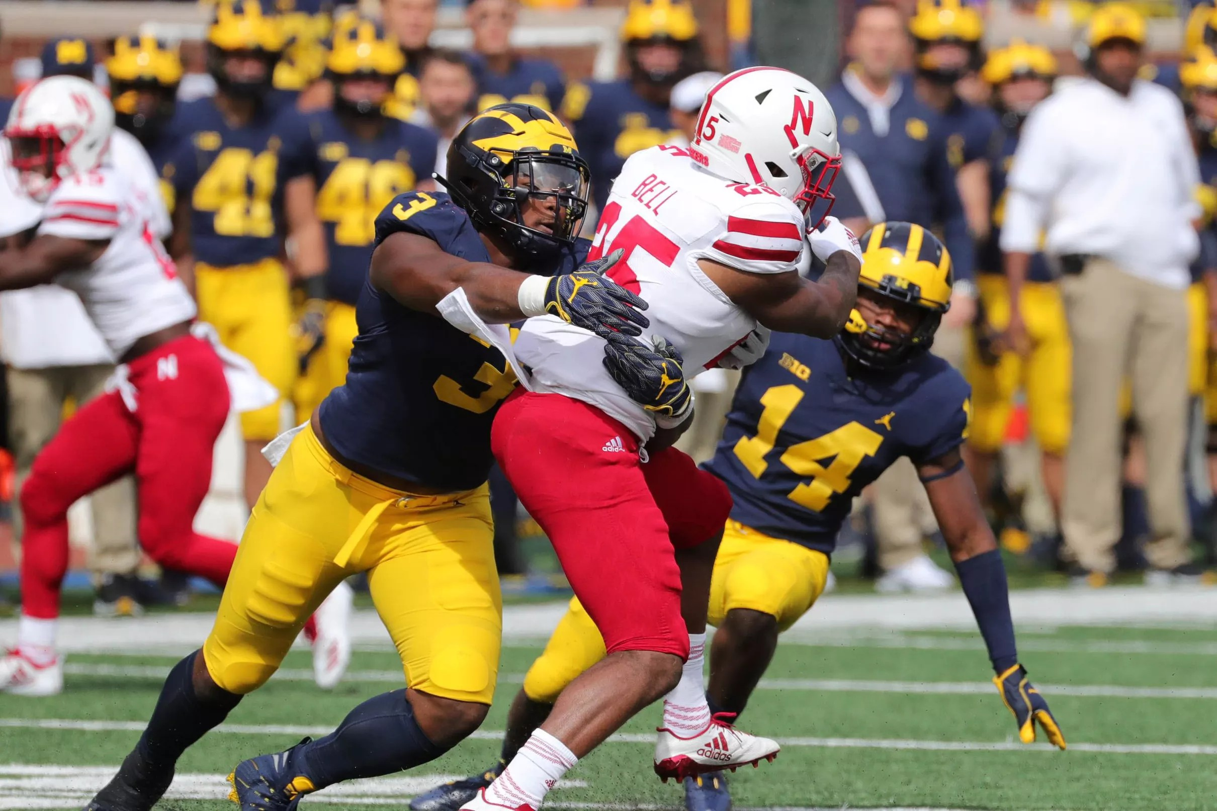 Lions notes: Michigan-Michigan State is full of NFL prospects