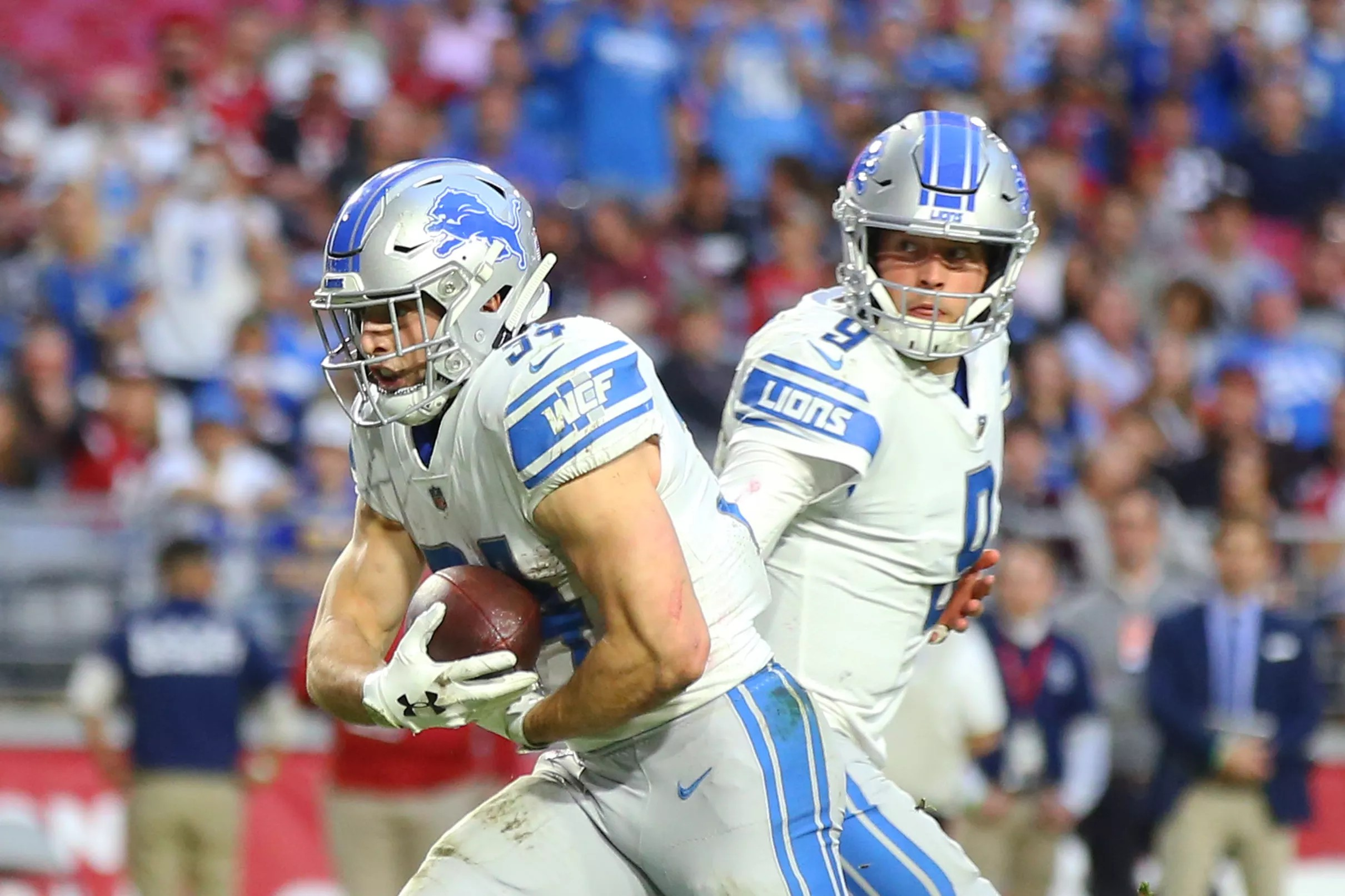huge selection of fad87 18bb6 Detroit Lions film breakdown: Does Zach Zenner have a place ...