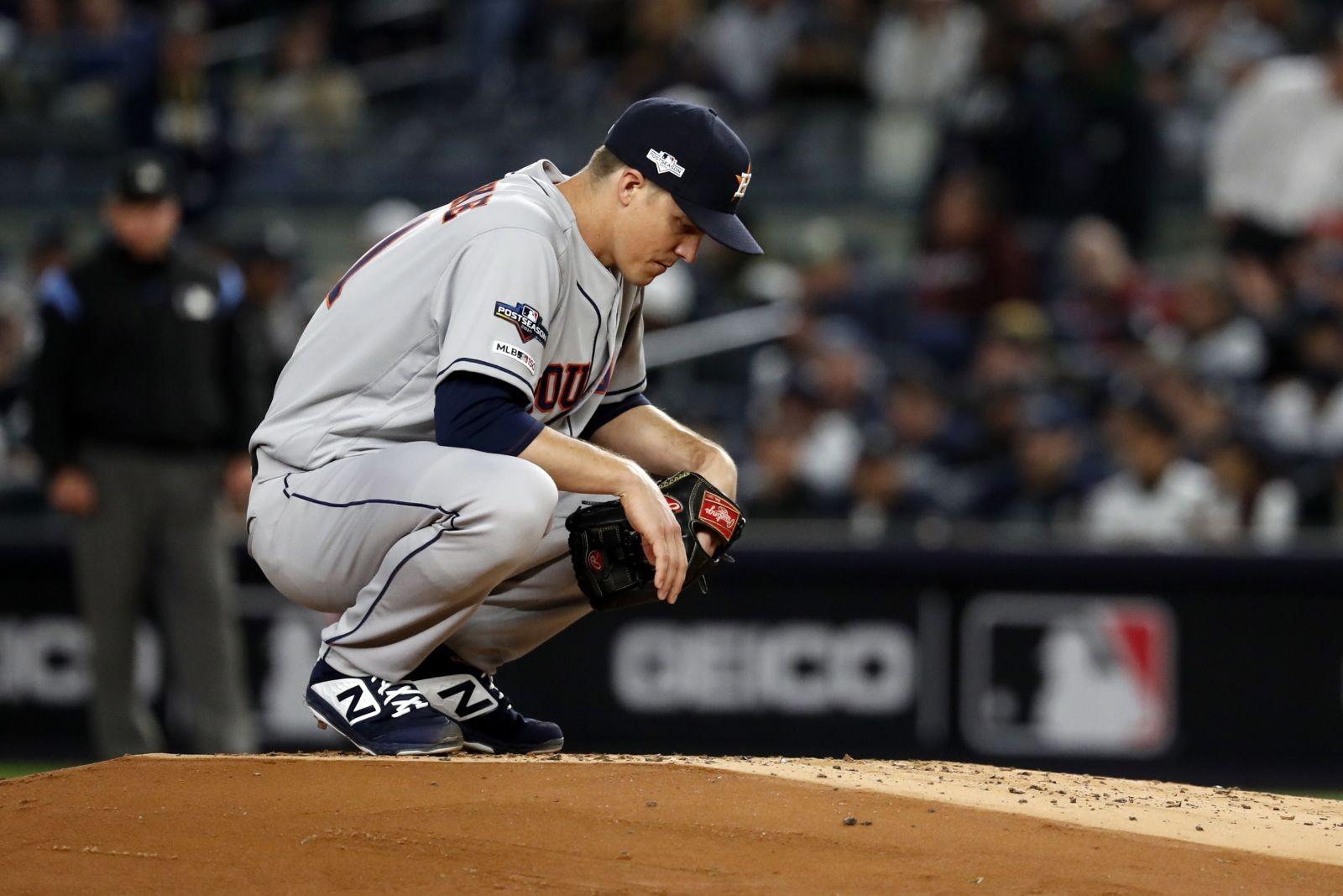 Houston Astros Zack Greinke Will Face Intense Pressure In Game 3
