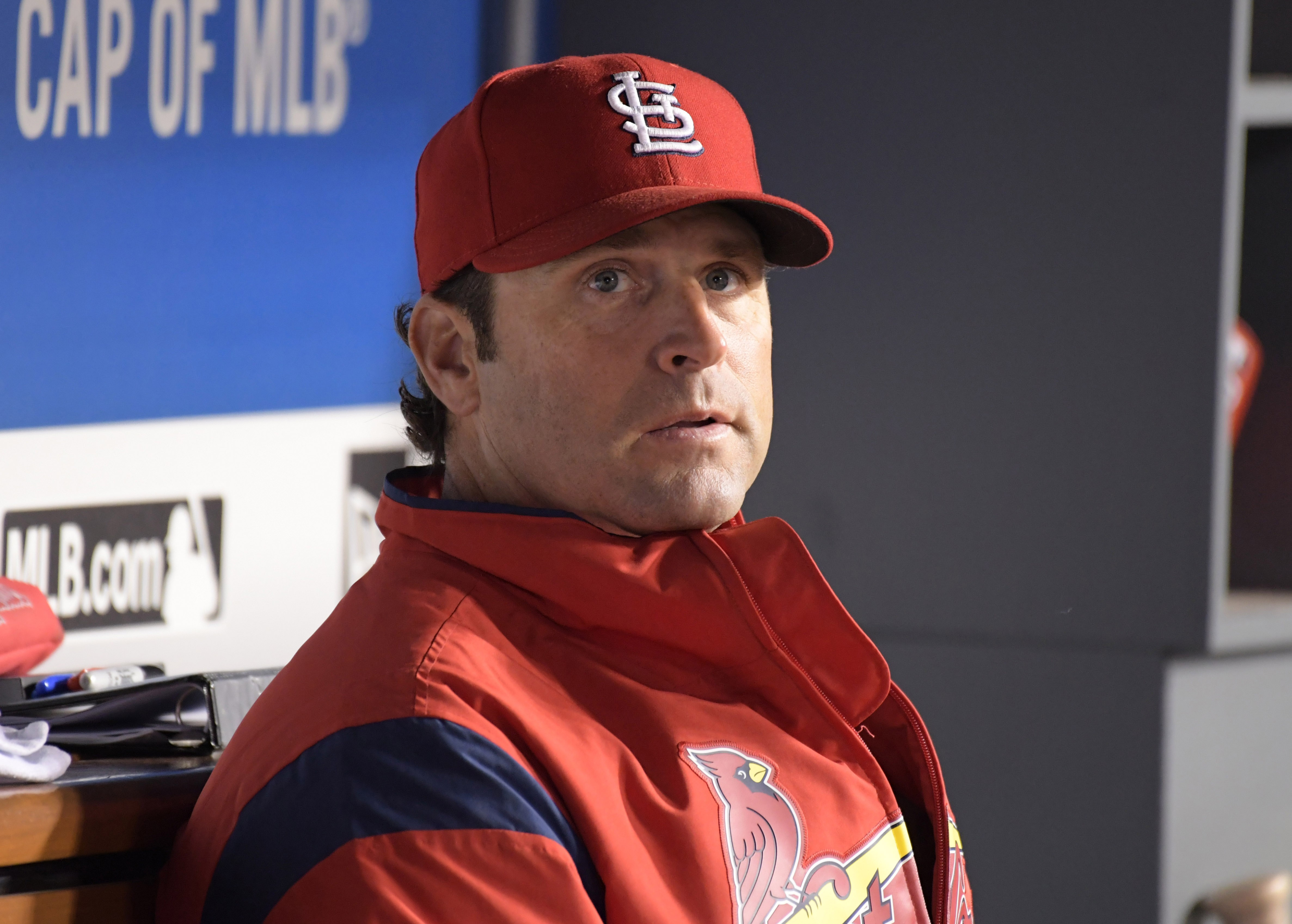 St Louis Cardinals Mike Maytag Repairman Matheny