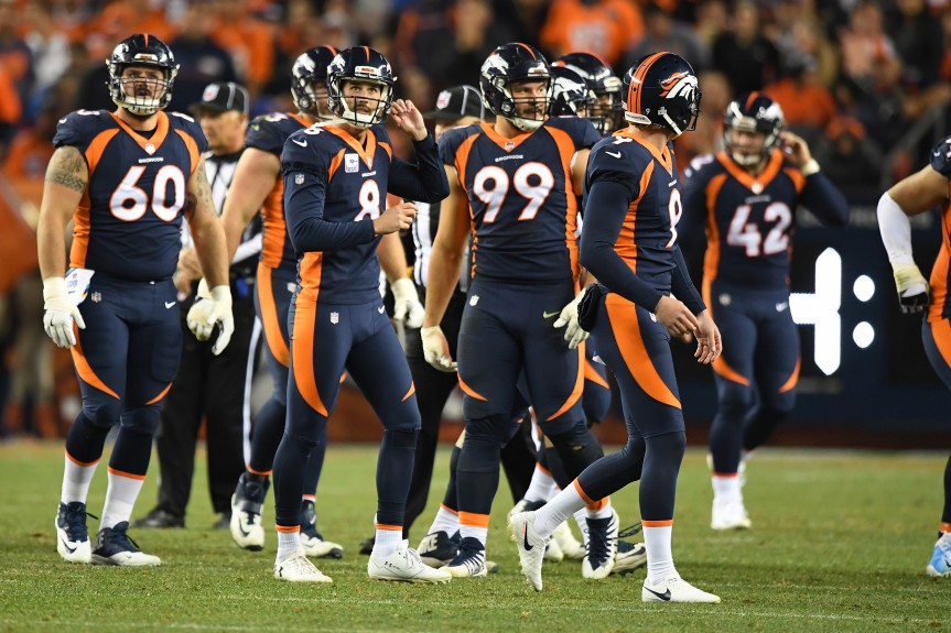 Broncos to wear all-blue uniforms vs. Chiefs for Monday ...