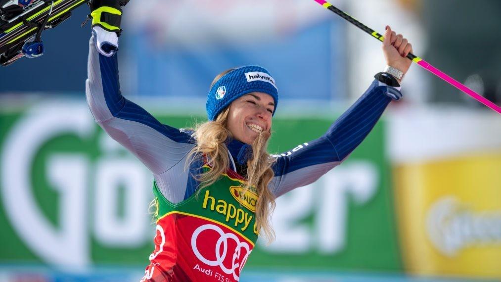 Marta Bassino Rallies To Win Courchevel Gs Mikaela Shiffrin 4th