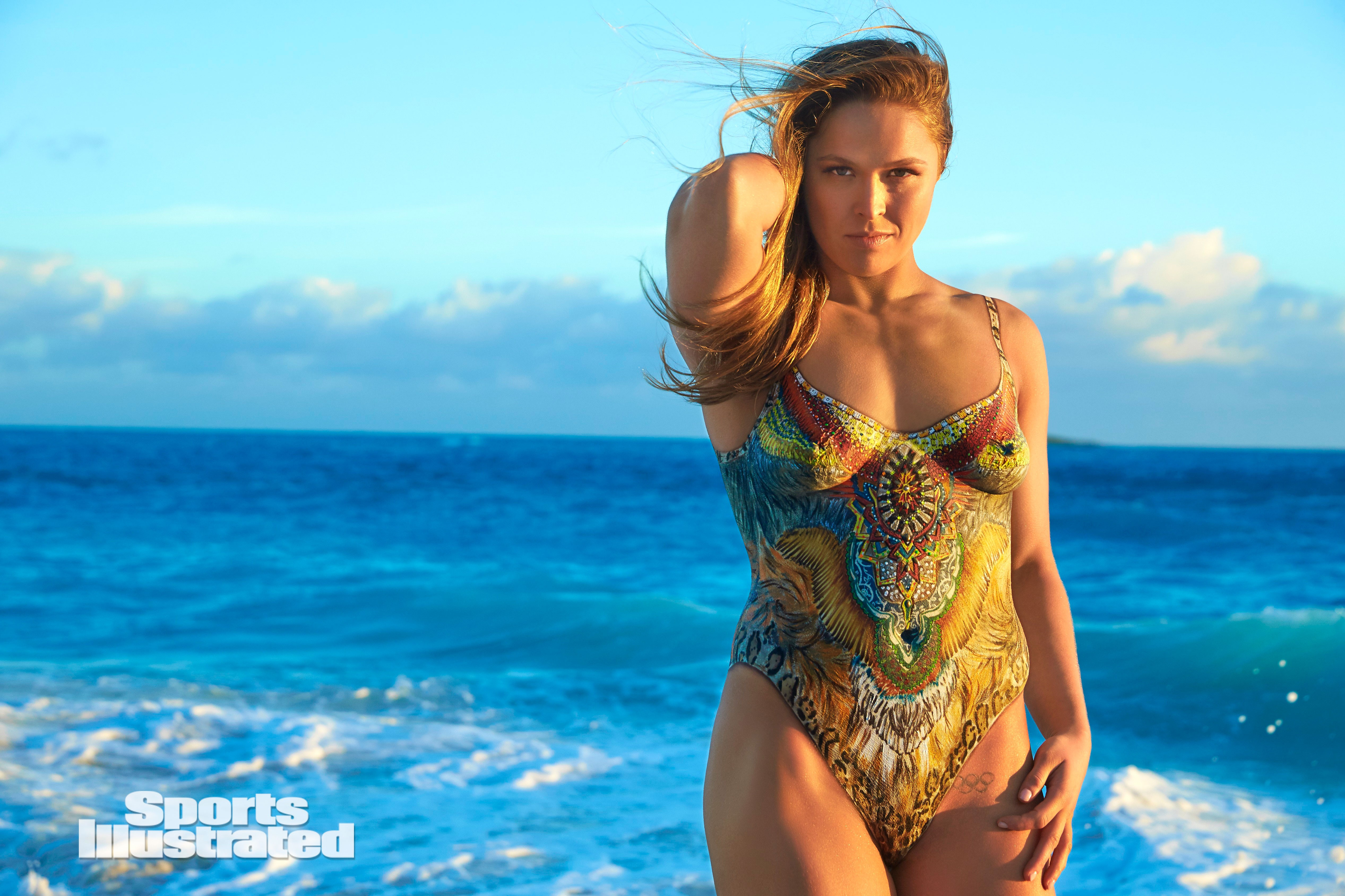 Celebrate Ronda Rousey s UFC return with never-before-seen BODY PAINT images 8eb619396