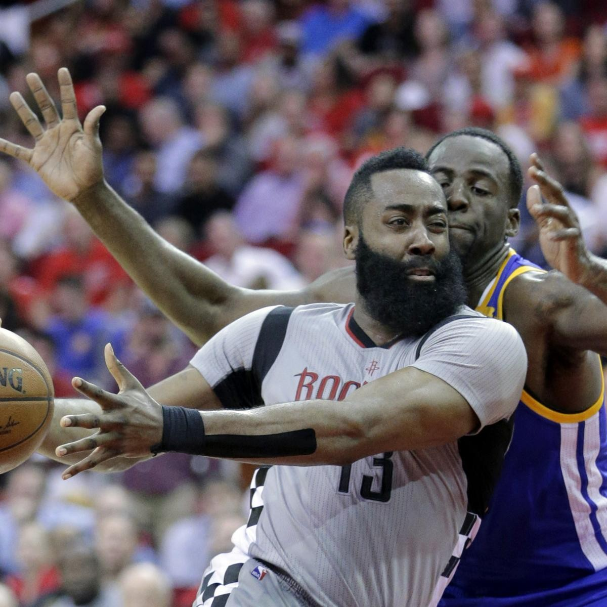 Draymond Green Admits To Punching James Harden In Injured