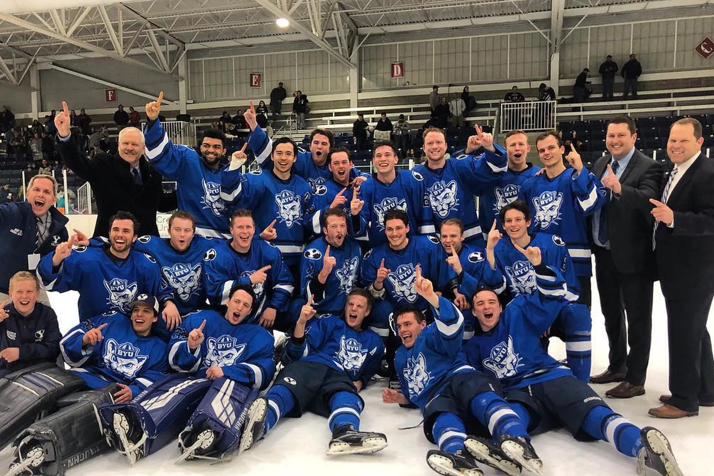 BYU Olympic Sports Recap  BYU Hockey wins MWCHL Tournament 70c269bd985