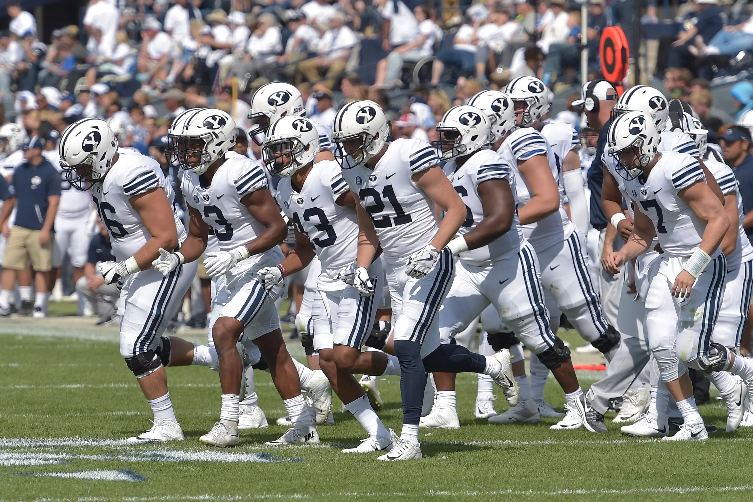 Uniformity  Color schedule for the BYU Football uniforms 51e81704f