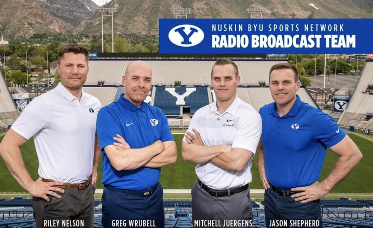 Riley Nelson joins BYU football broadcast team, replacing ...
