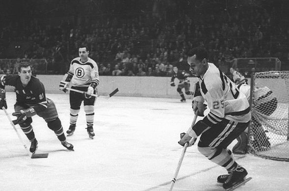 Willie O'Ree, SoCal Legend Gets Overdue Call to the NHL ...