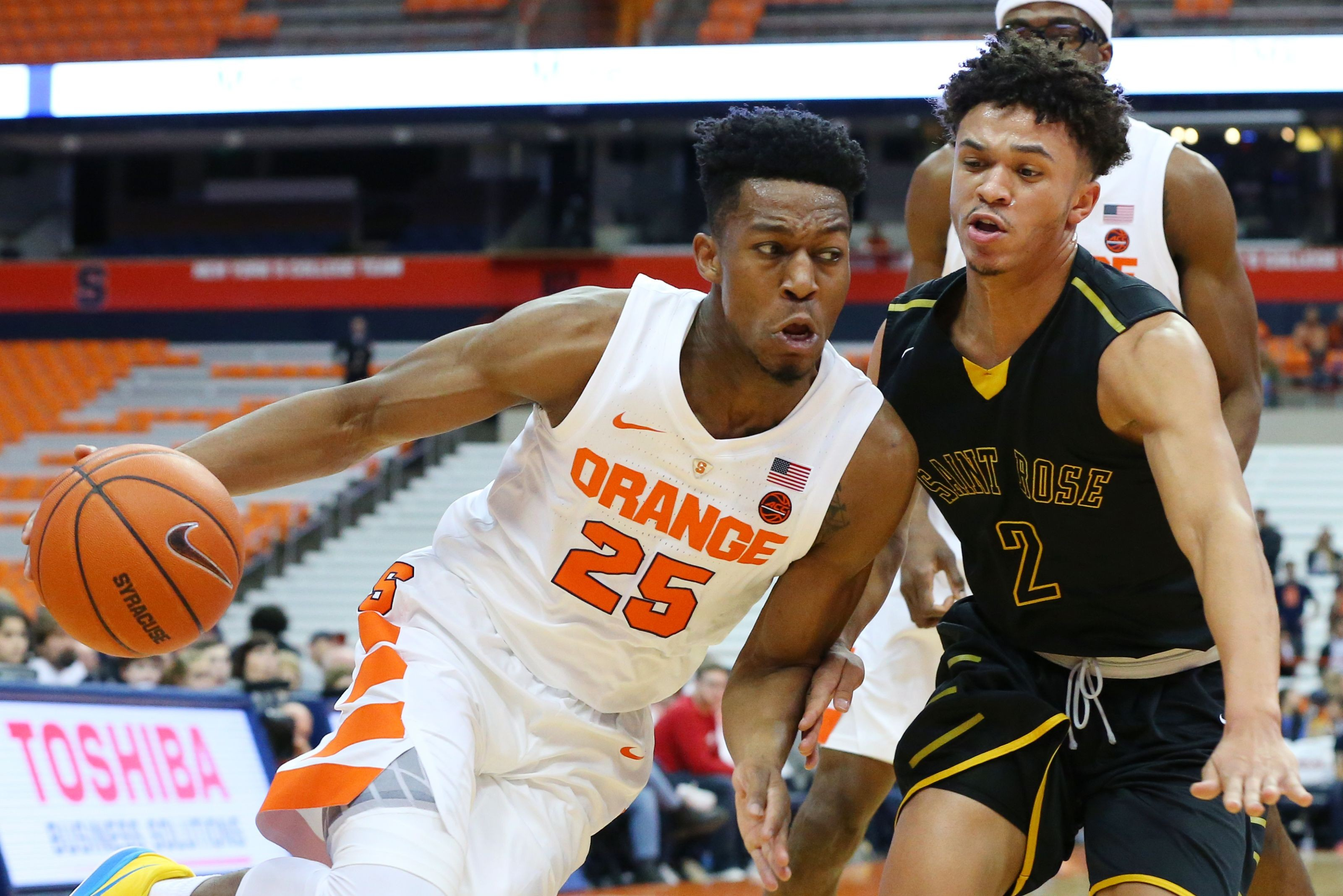 Syracuse Basketball Tyus Battle Named To Espn Preseason First Team