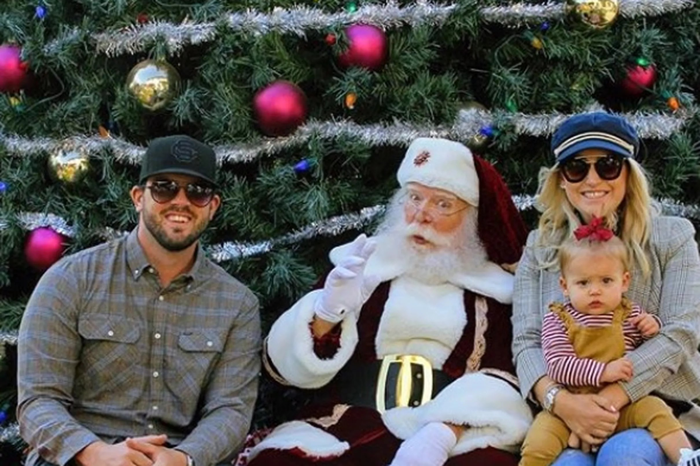 How Royals players and fans celebrated Christmas