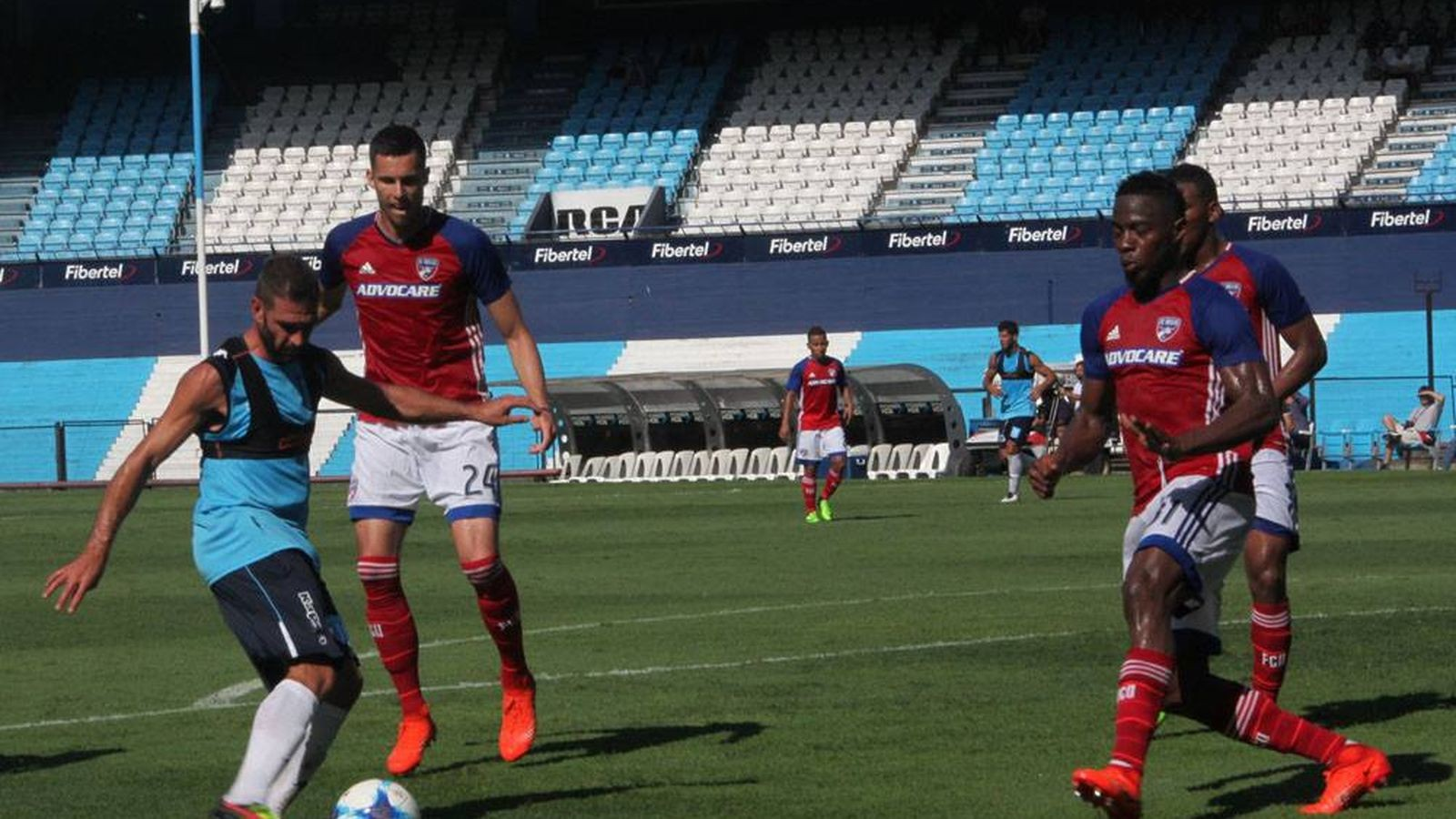Fc Dallas Ties Racing Club In Pair Of Scrimmages