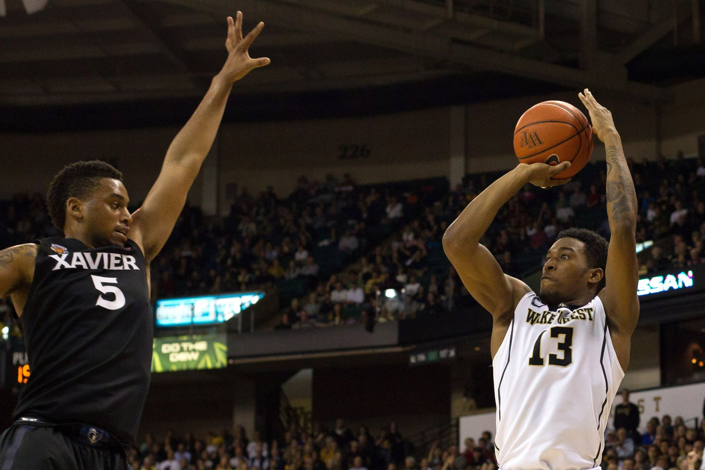 Xavier vs. Wake Forest recap: Musketeers survive early ...