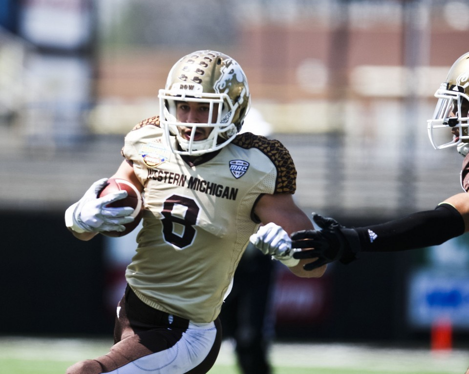 NFL Jerseys - Western Michigan's Daniel Braverman drawing praise from NFL draft ...