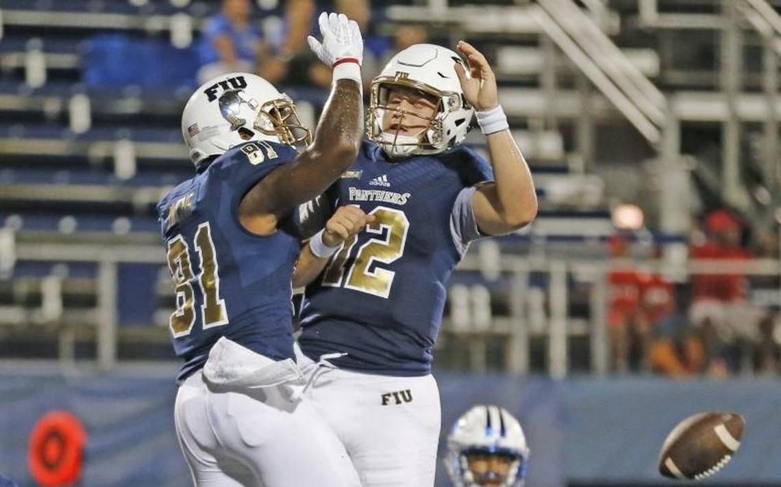 low priced 3c095 45791 Trio of FIU football players making a mark on program record ...