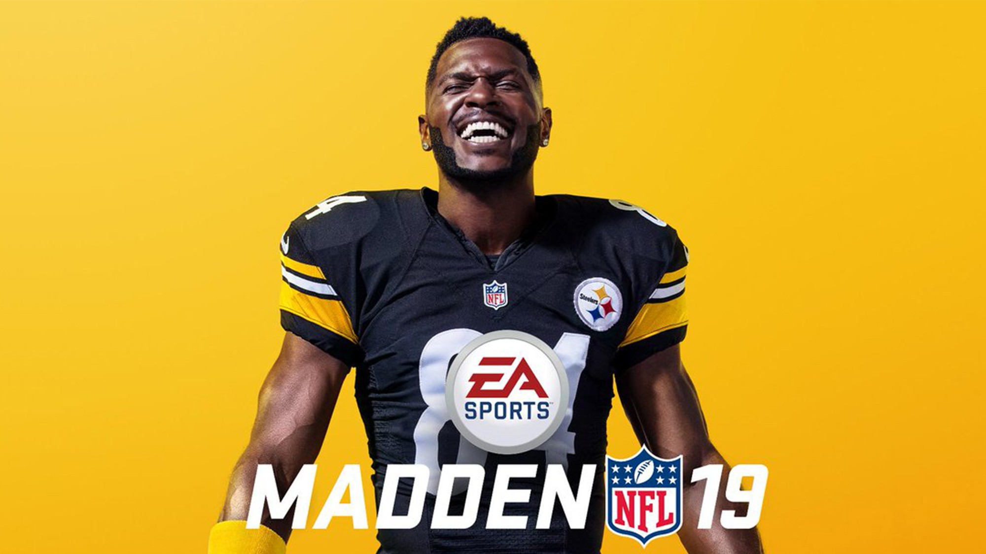 online store a3fe4 dbde9 Former CMU Standout Antonio Brown to Star on Madden 19 Cover