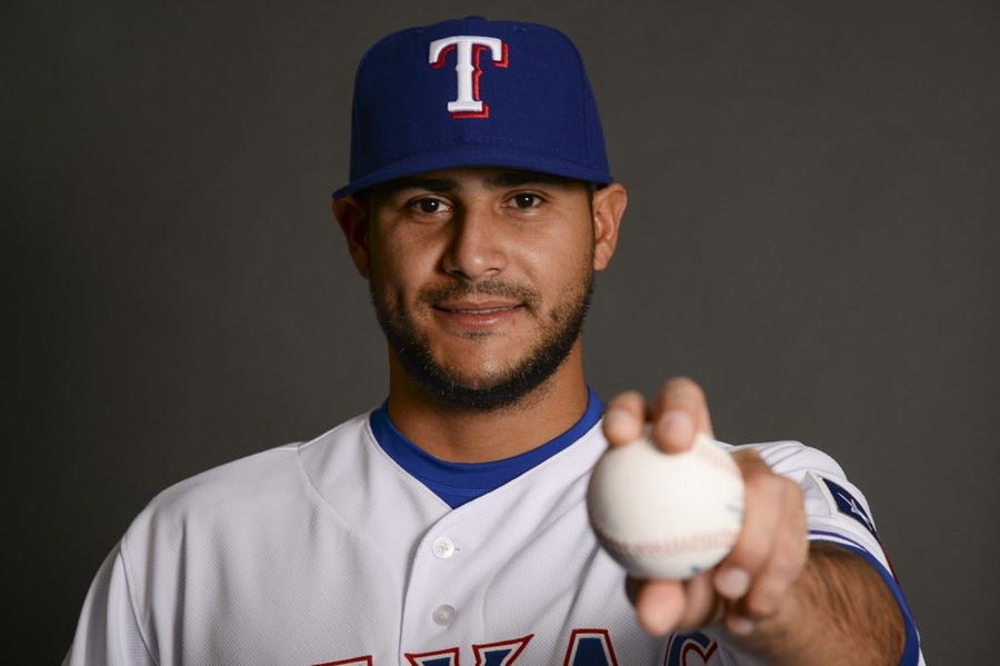 a04e67f7d Why MLB scouts were wowed by spring training debut of Rangers lefty Martin  Perez