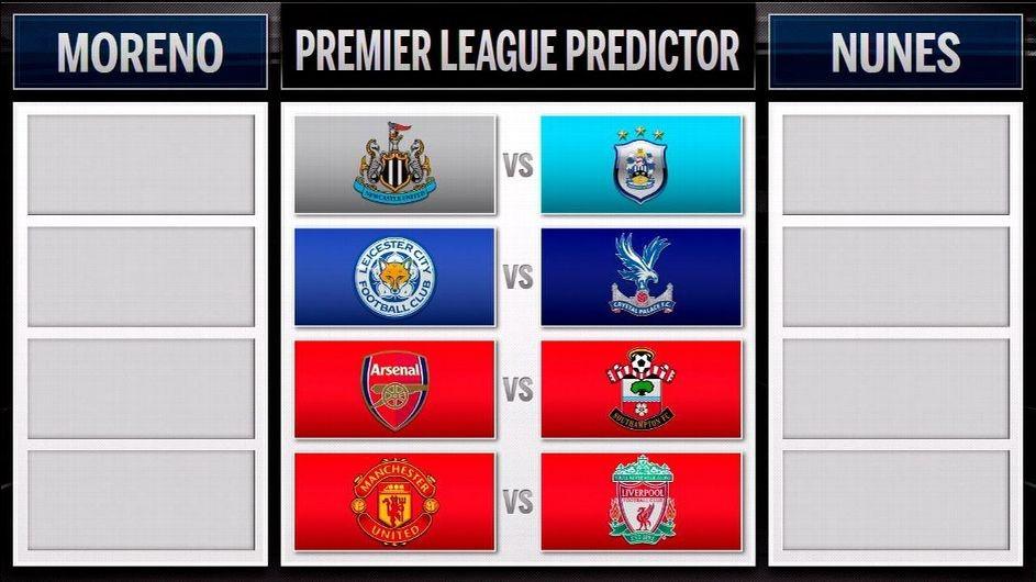 Premier League Predictor: Man United-Liverpool takes centre