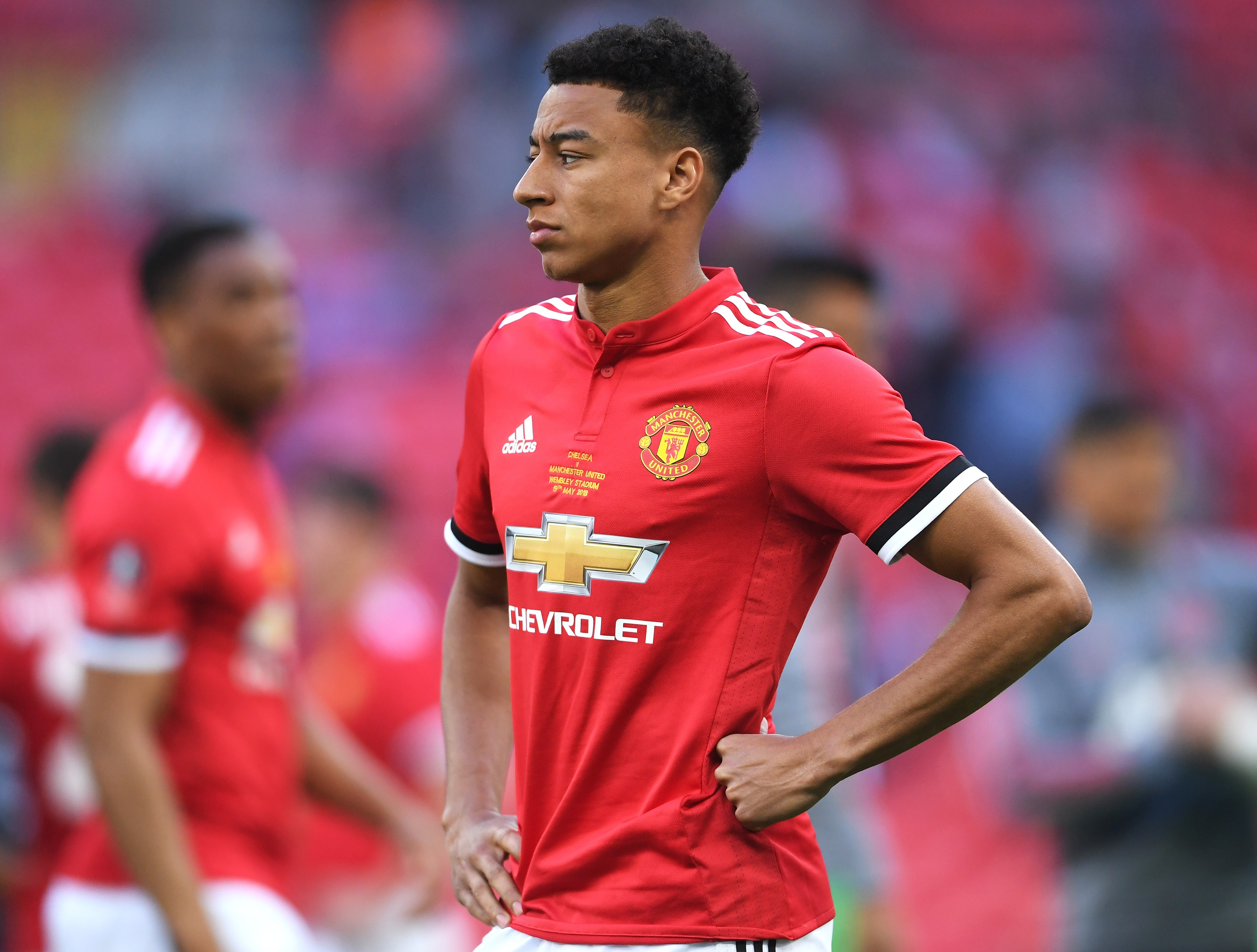 5479413bc World Cup 2018  Jesse Lingard  more comfortable  playing for England than  Manchester United