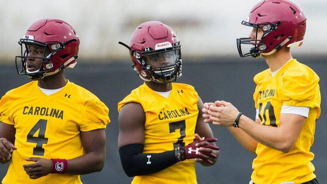 Gamecocks spring practice report: Joyner's debut and a ...