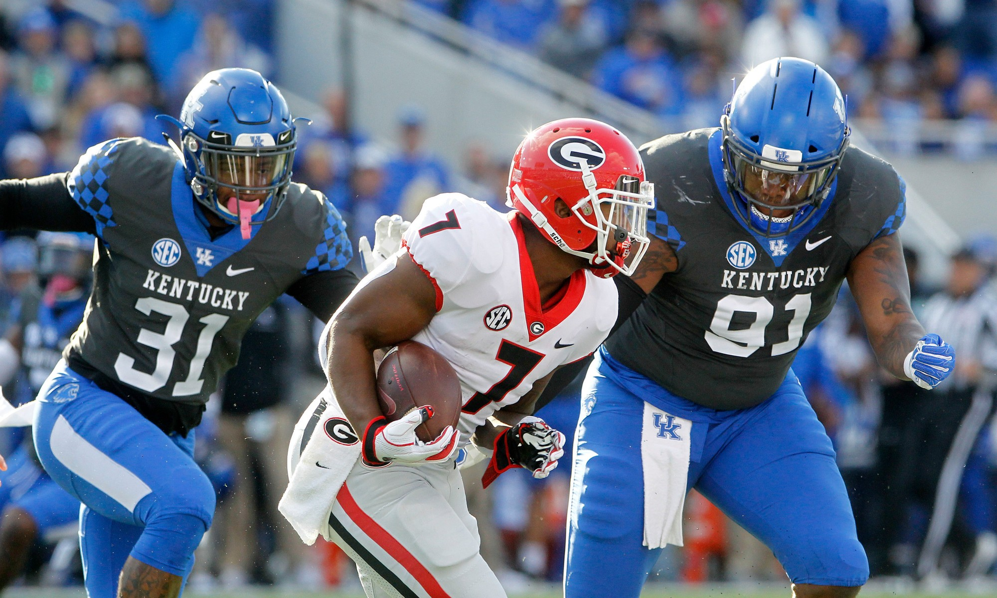 Kickoff time officially announced for Georgia-Kentucky game