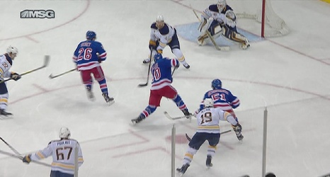 Pavel Buchnevich s three-point night lifts New York Rangers to 4-3 win over  Sabres (Highlights) 523d19ff6
