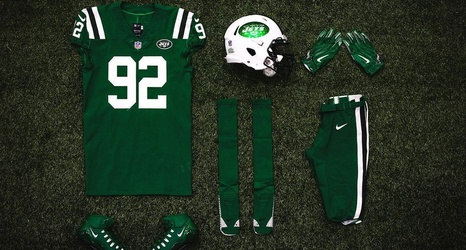 best service 23431 e31f2 Jets, Bills will rock Color Rush uniforms for Thursday night ...