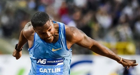 Alter Spint by day he s justin gatlin by race he s alter ego j gat